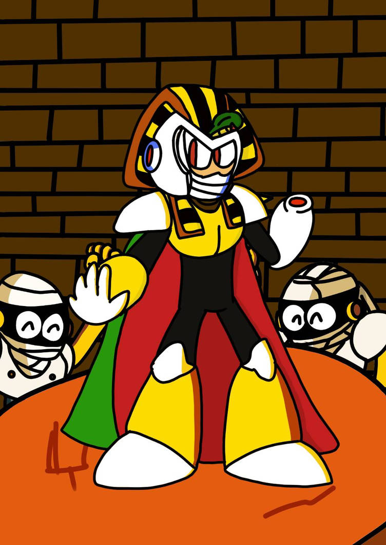 All Hail King Pharaohman! by Megamanfan000