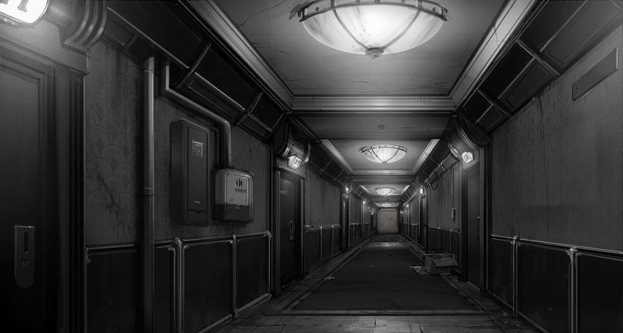hallway by AdamRichards