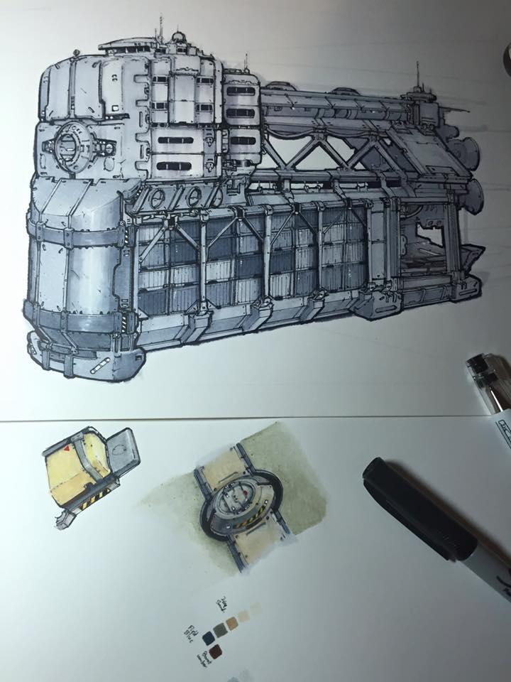 Freighter 01 by AdamRichards