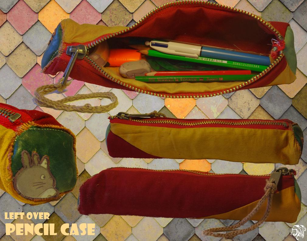 Left Over Pencil Case by SuWaNu