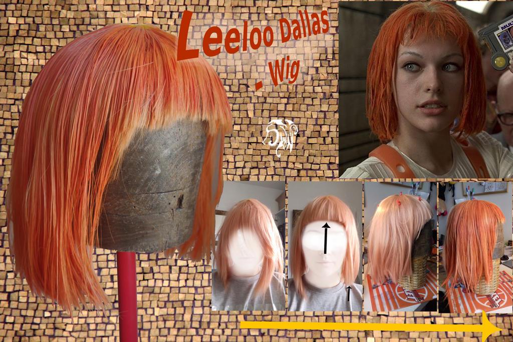Leeloo's Wig cosplay by SuWaNu