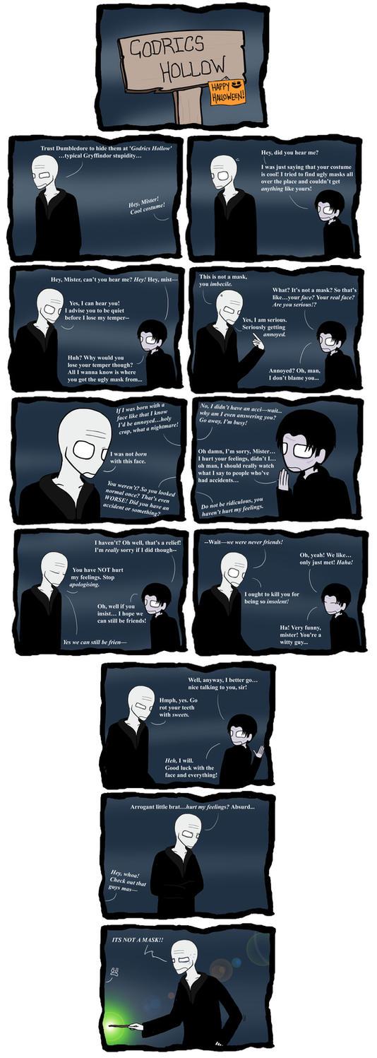 Masked Feelings. by Slinkers