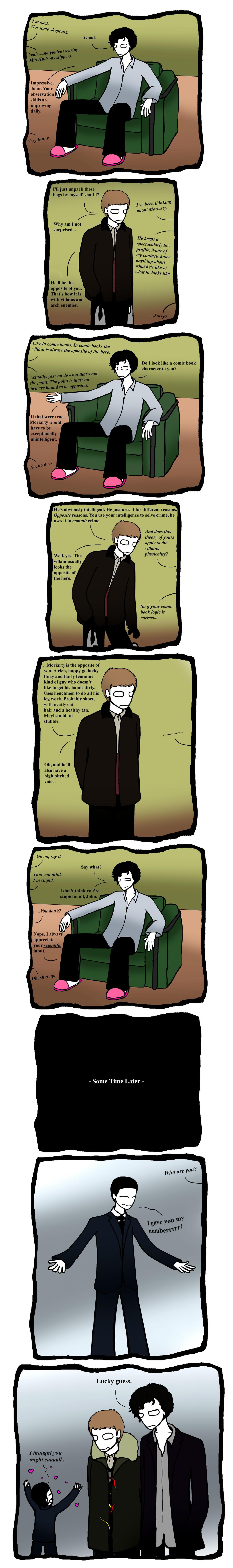 Opposites. -Sherlock Spoiler- by Slinkers