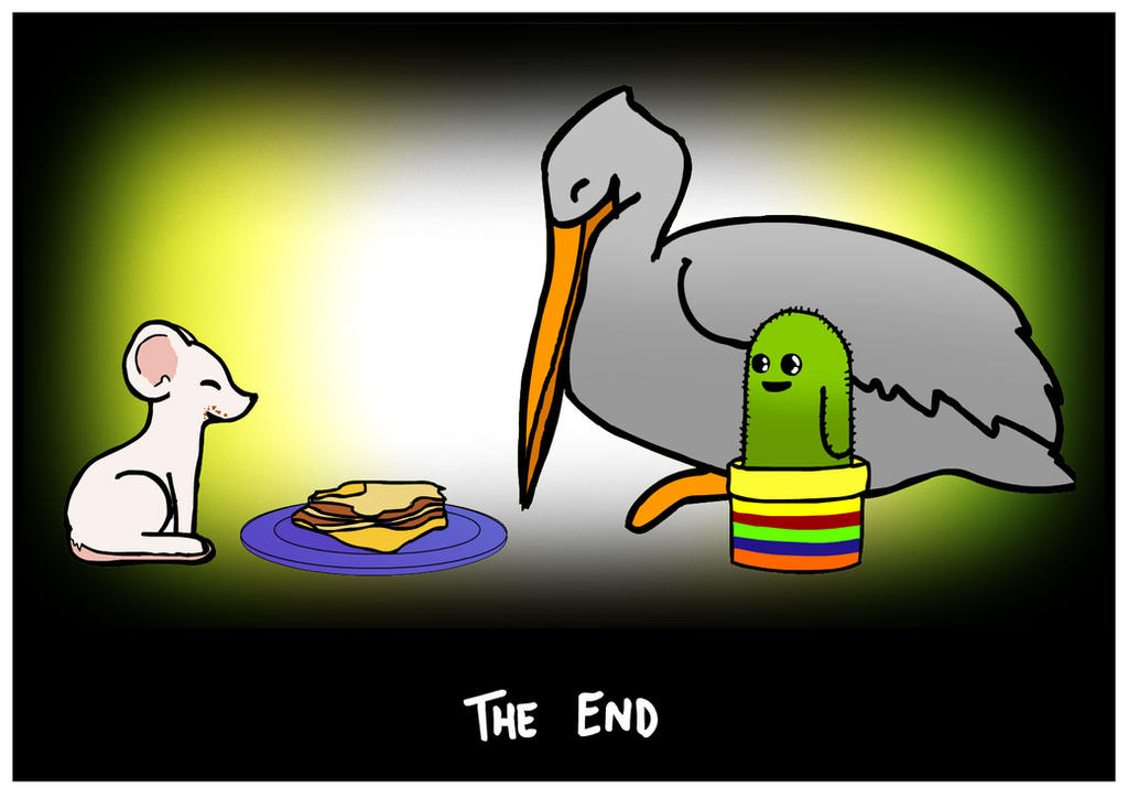 Comic of Consequences  The End by Slinkers