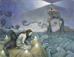 Sea Lion Dream - Lost Selkie