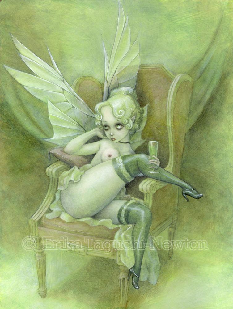 Absinthe Fairy by wanderlust-pixiedust