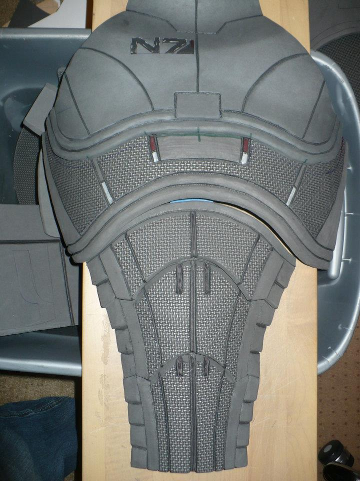 COMMANDER SHEPARD ARMOR *Teaser* by NYCAssassin