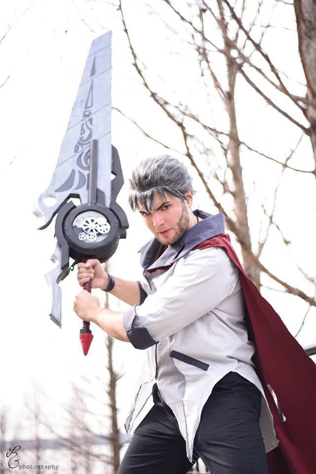 Uncle Qrow from RWBY by NYCAssassin