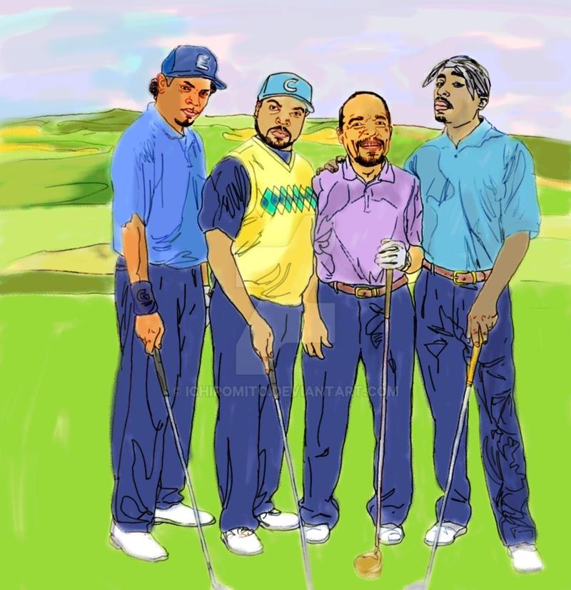 Gangsta Golf by ichiromito