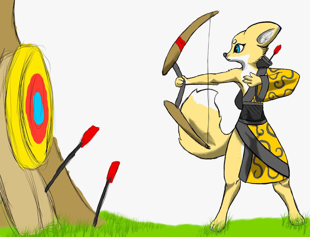 archer training by hugopcc