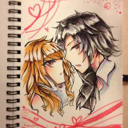~DEMON LOVE ~ [HAPPY VALENTINE DAY] by annthedevil