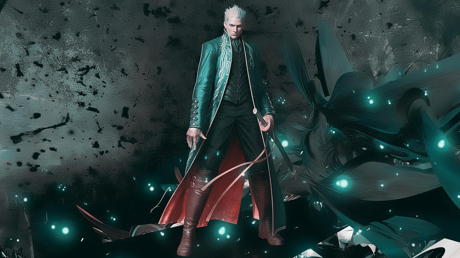 Vergil Dmc wallpaper by Mrbarclonista