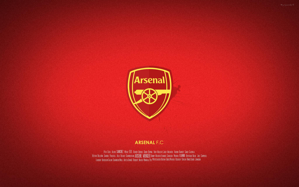 Arsenal The gunner by Mrbarclonista