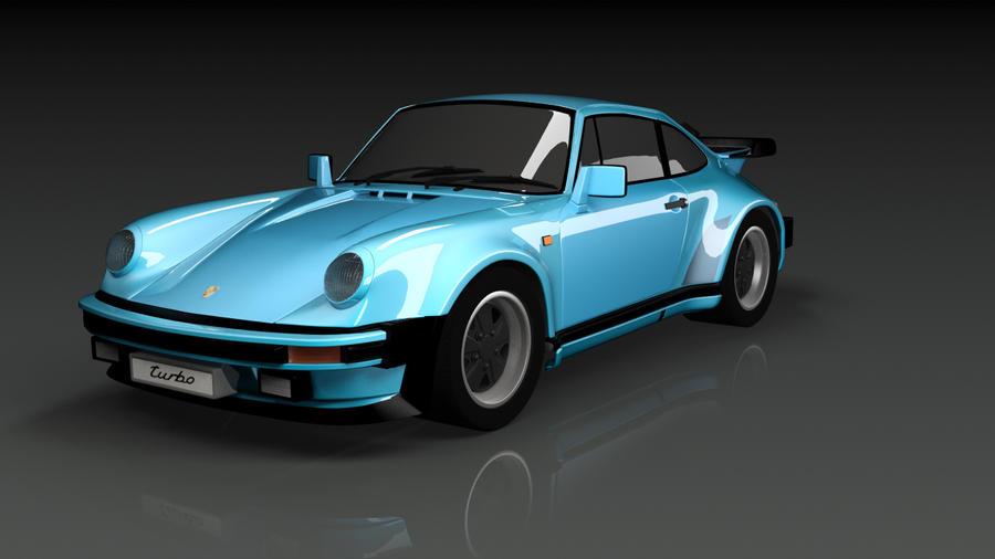 Porsche 911 Turbo '88 by TohVahKiin