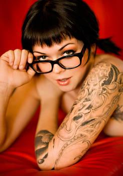 Apnea sporting glasses