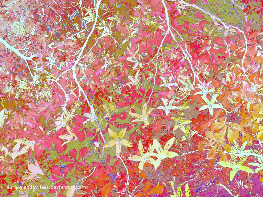 bellflower in autumn raiment by ilura-menday-less