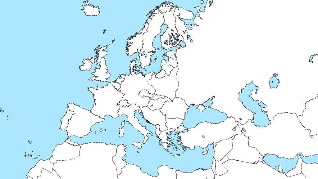 map of europe 1939 blank Europe blank map, 16:9 Second world war era, 1939 by Fjana on