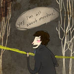 Sherlock is all about crimes