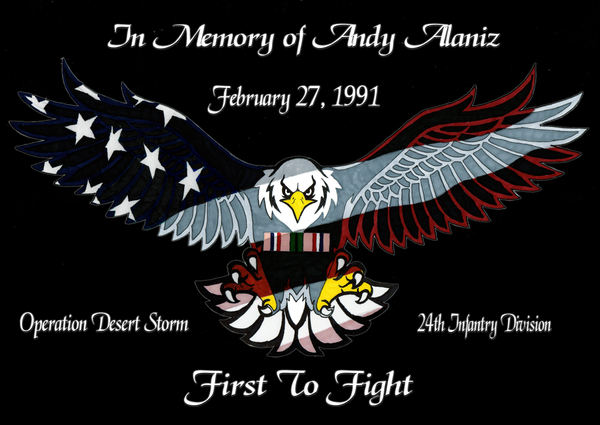 In Memory of Andy Alaniz by B-Richards