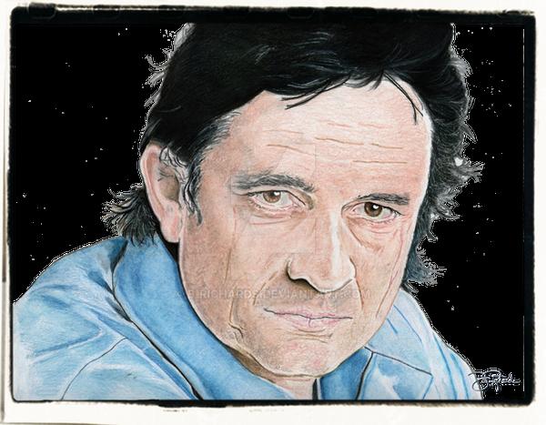 Johnny Cash by B-Richards