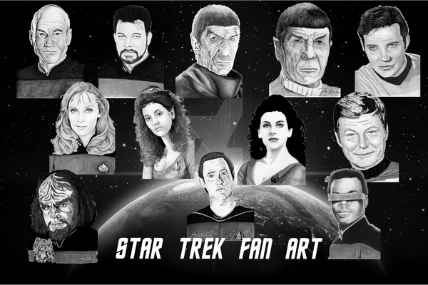 Star Trek by B-Richards