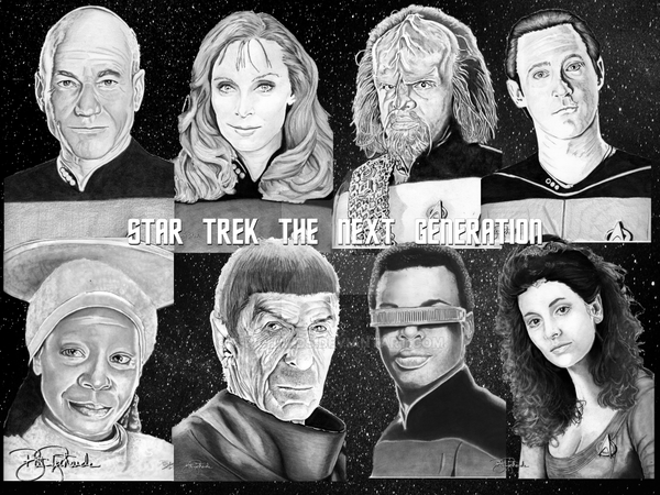 Star Trek The Next Generation by B-Richards