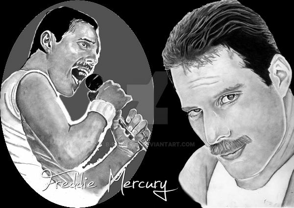 Freddie Mercury by B-Richards