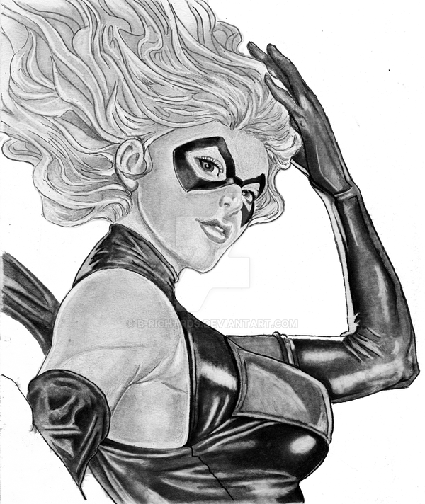 Captain Marvel ( Ms. Marvel) by B-Richards