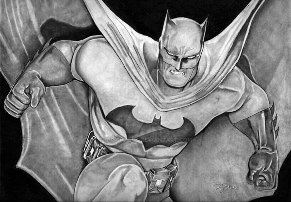 Batman by B-Richards