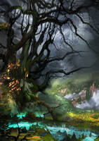 Witch tree by lavam00