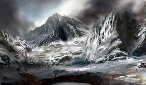 Ice citadel by lavam00