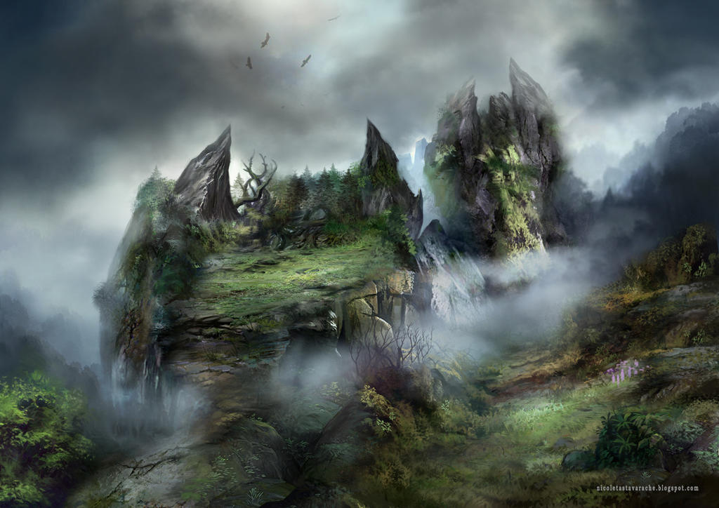 The Peak of peace by lavam00
