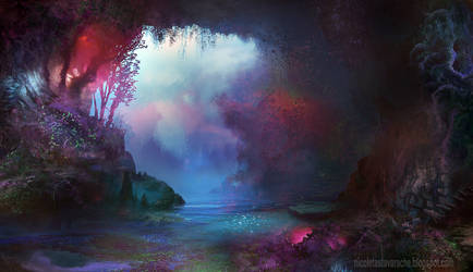 Mystic cave by lavam00