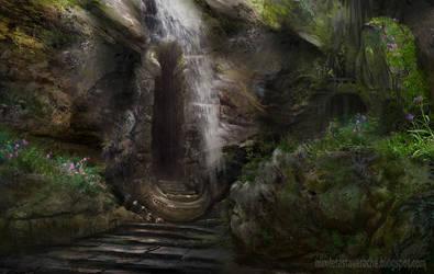 Cave entrance by lavam00