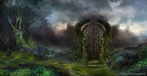 The gate between worlds by lavam00