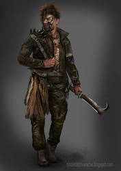 Postapocalyptic Male by lavam00
