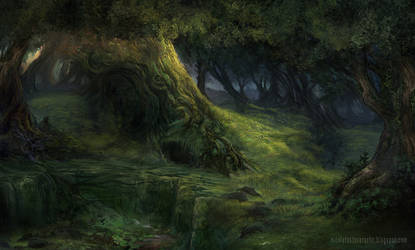 Deep in the Woods by lavam00