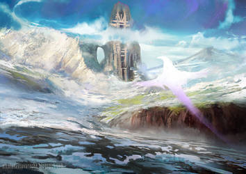 Frozen tower