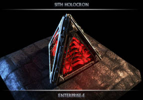 Sith Holocron by Enterprise-E