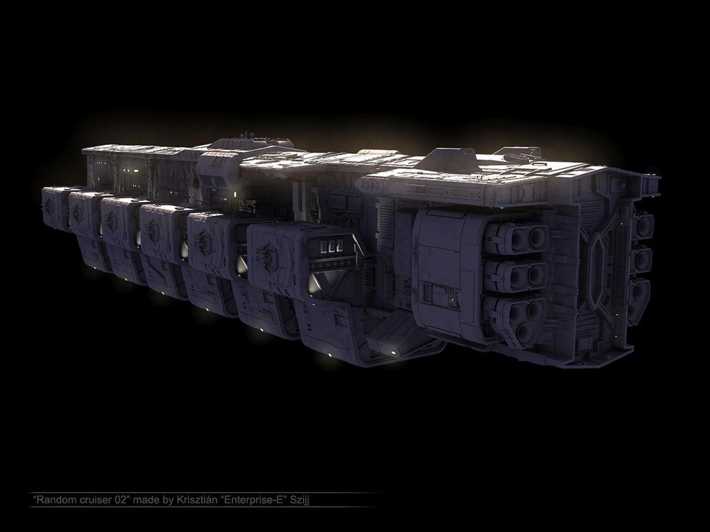 Random cruiser 02 - model demo by Enterprise-E