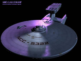 Abbe class starship demo 01 by Enterprise-E