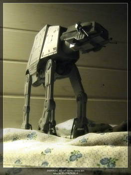 Imperial AT-AT Revell model