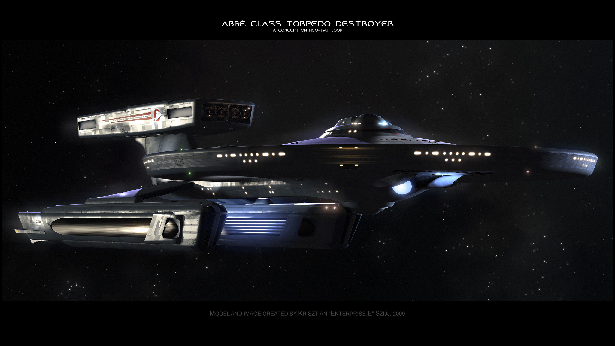 Abbe Class Destroyer - TMPish by Enterprise-E