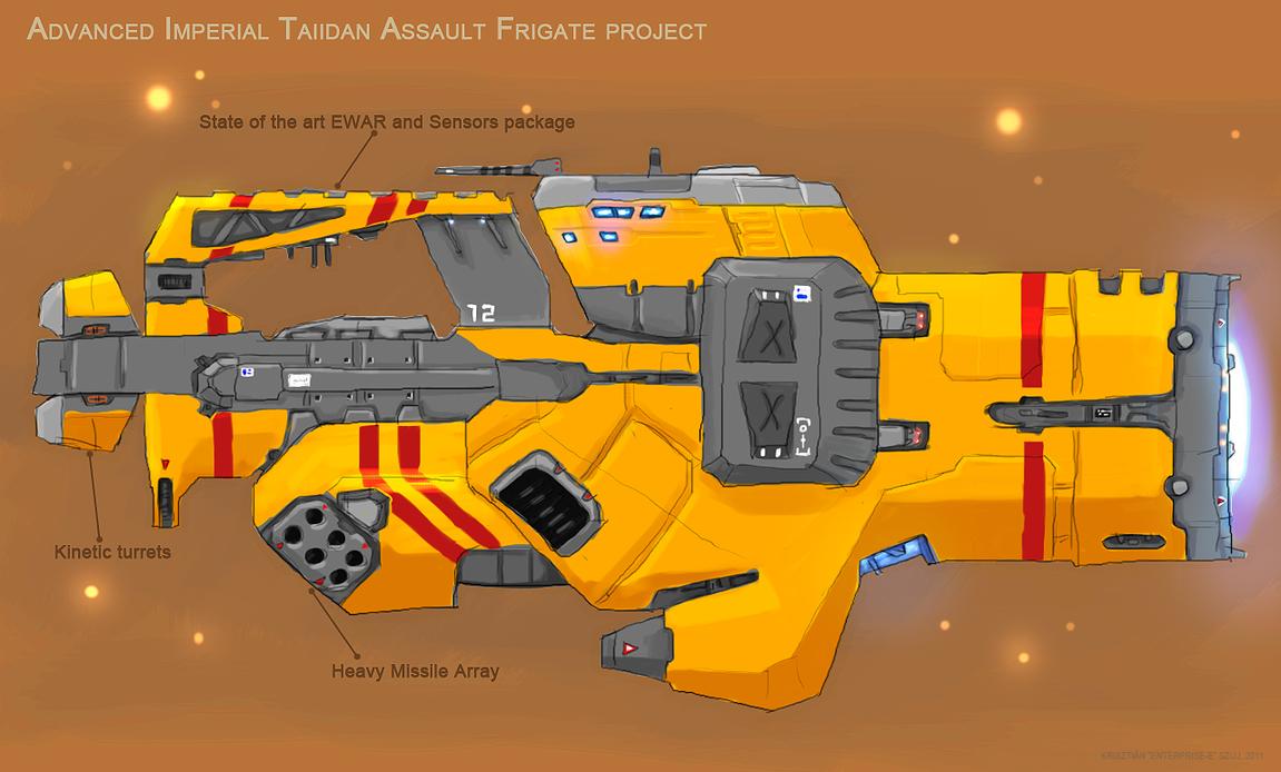 Advanced assault frigate by Enterprise-E