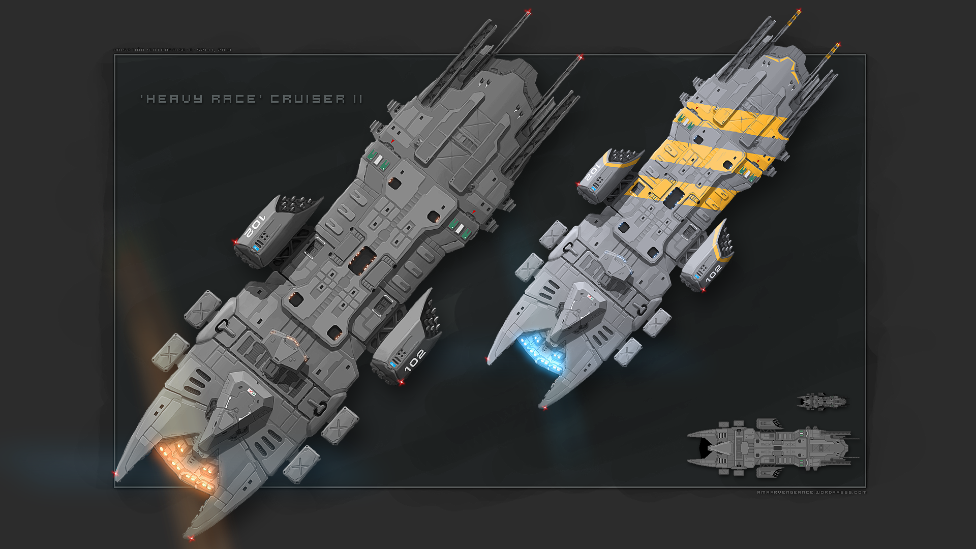 Heavy II concept by Enterprise-E