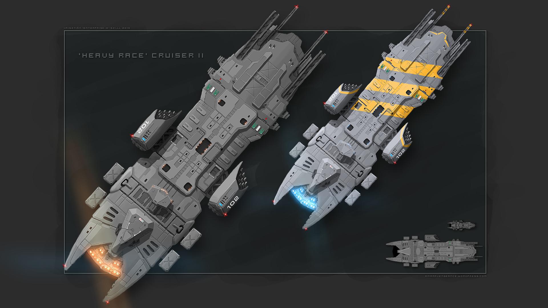Heavy II concept by Enterprise-E