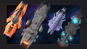4 races Compilation