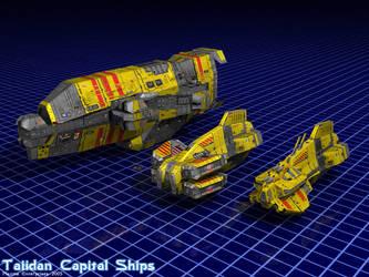 Taiidan Super-Capital Ships by Enterprise-E