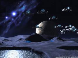 Terran Battlecruiser Fleet by Enterprise-E