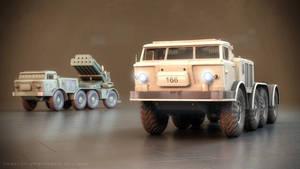 ZiL-135 base vehicle and 9P140 'Uragan' MLRS #2